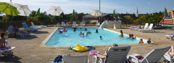 CAMPING DU LAC DE BONNEFON ***, mobil-homes en Occitanie