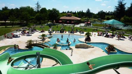 CAMPING LAC DE THOUX ST-CRICQ ****, mobil-homes en Occitanie